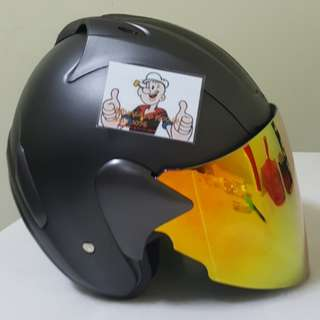 2801*** ARC Ritz Helmet with Gold visor  For Sale 😁😁Thanks To All My Buyer Support 🐇🐇 Yamaha, Honda, Suzuki