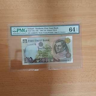 Northen ireland banknote