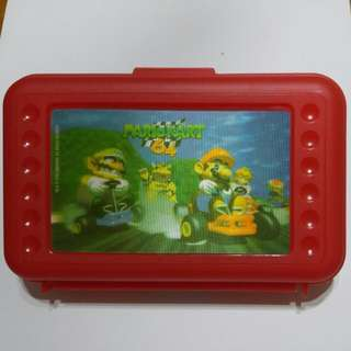 Mario Kart 64 red container box