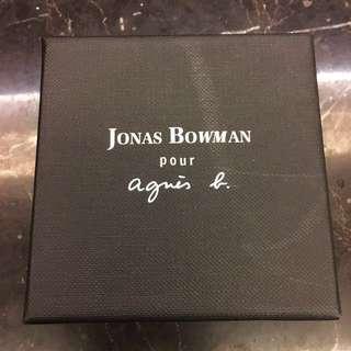 🚚 法國 Agnes b.聯名款男生戒圈牛皮項鍊-免運