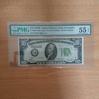 1928 US gold certificate