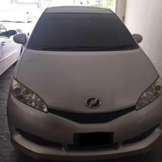 Toyota wish 1.8cc(A)
