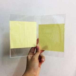 Glass Dual Photo Frame