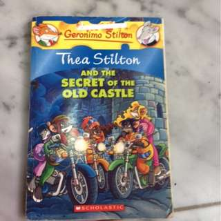 Thea Stitlon and the secret of the old castle