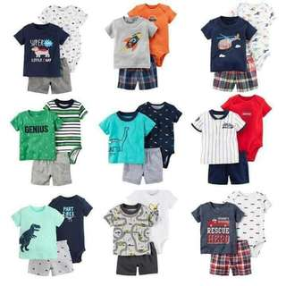 Carter's Boy 3 pc Casual Set