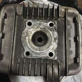 Yamaha rxz block head