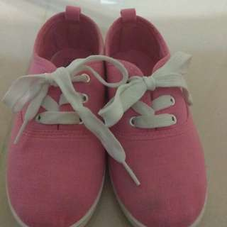 Pink shoes size 11