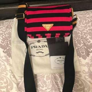88%new Prada 斜咩袋