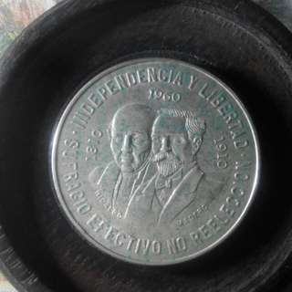 1960年墨西哥鷹洋大銀幣