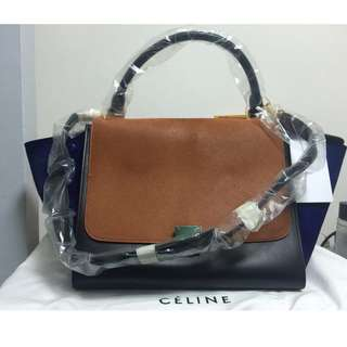 [全新]CELINE Medium Trapeze Shoulder Strap