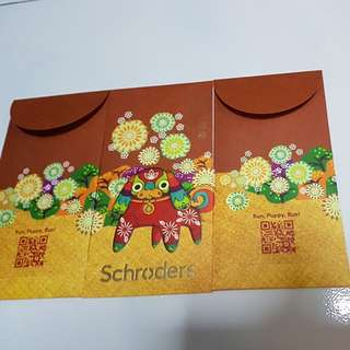 SCHRODERS RED PACKETS