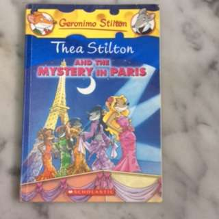 Thea stitlon and the mystery in paris