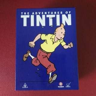 The Adventures of Tintin DVD set
