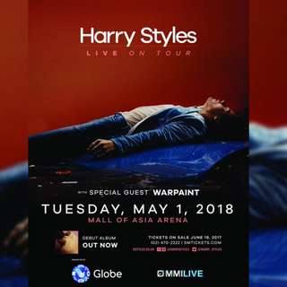 HARRY STYLES LIVE IN MANILA (1) ONE PLATINUM STANDING LEFT (Negotiable)