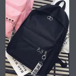 Korea Designed Black Backpack