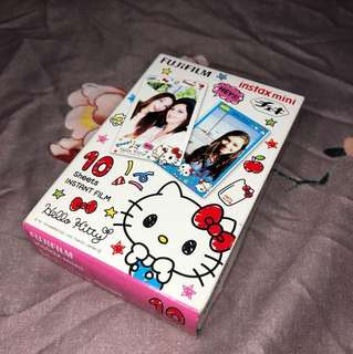 RUSH SELLING!!! Hello Kitty Instax mini fim 10 sheets *sealed*