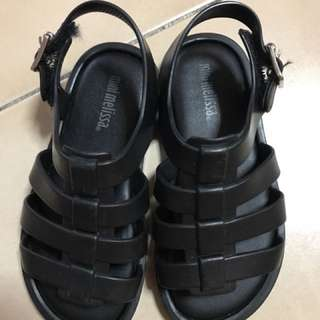 Melissa Mini Black Sandals