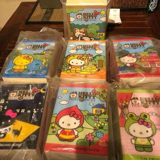 2013 McDonald Hello Kitty Fairy Tales + Collector's Kit
