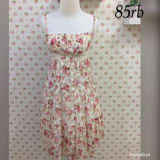 Dress cantik second import