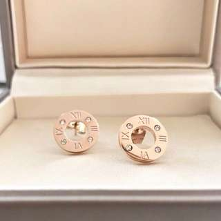 18K rose gold-plated Earrings!✨