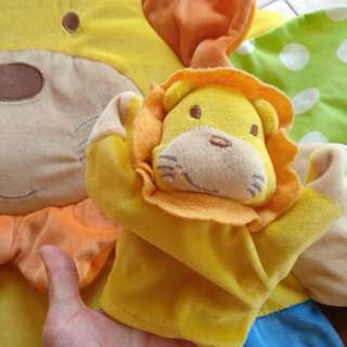 [Price reduced ] Monty lion baby gym