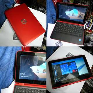 Hp Pavilion X360 11 Inch 4GB 500GB Touch Screen Flip Notebook $265