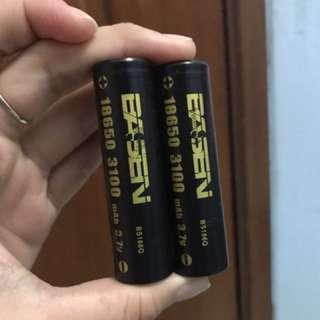 Baterai basen 3100mAh ori vape 150 2 baterai