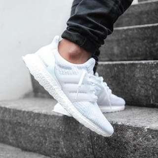 Adidas Ultra Boost 3.0 PK Triple White