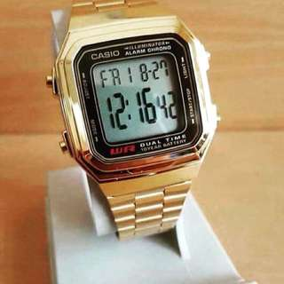 CASIO BIG VINTAGE WATCH