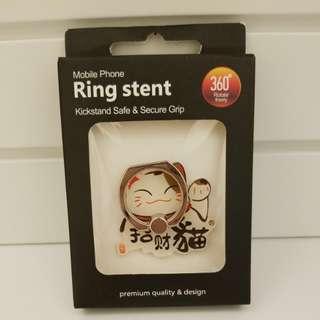 招財貓手機指環 Ring Stent