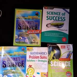 PSLE text books