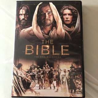 THE BIBLE dvd x4 disc