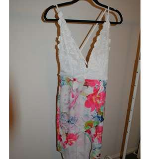 Floral Lace Summer Dress