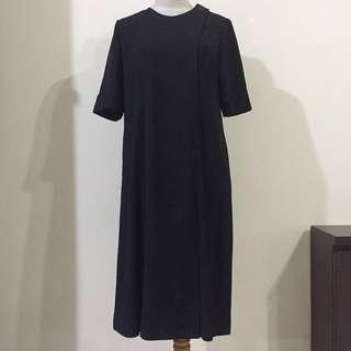 Black dress for maternity