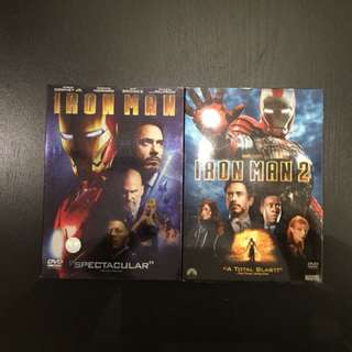 Iron man, twilight and more DVD