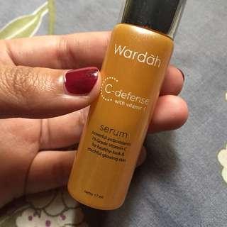 wardah c defense serum