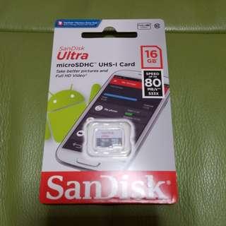16GB Sandisk 快卡