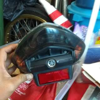 lampu belakang x1r.carb v2.casing engin v1.water pumpv1.crank shaft