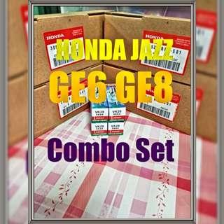 HONDA JAZZ / Fit GE6 GE8 / Freed / Godlike setup  (original ignition coil + VK20 DENSO IRIDIUM TOUGH set up)