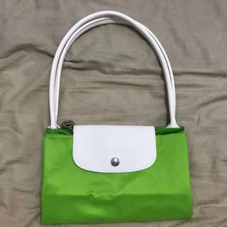 Longchamp-Sarah Morris edition colour. 淨色特別版色。M size bag。