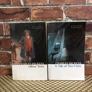 Oliver Twist and A Tale of Two Cities by Charles Dickens