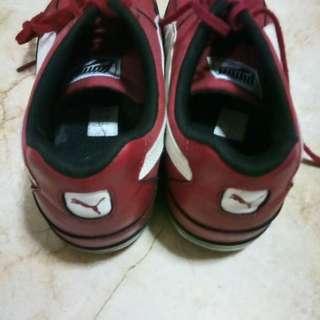 Puma Red sneaker size 45