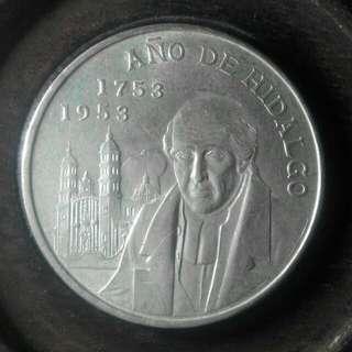 爆光!1953年墨西哥大銀幣