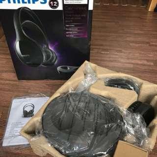 全新 Philips SHD8600 無線耳筒
