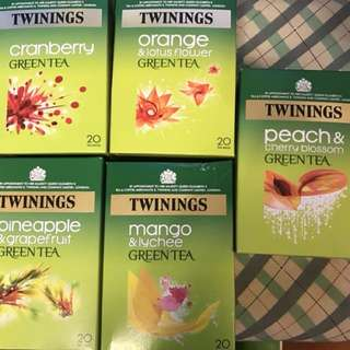 Twinings Green Tea - 20 tea bags