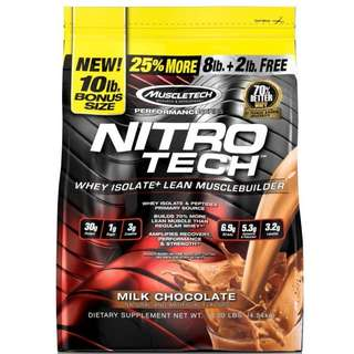 Muscletech NitroTech 10lb refilling for Pre-orders ONLY