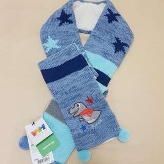 🚚 全新WINGHOUSE兒童圍巾