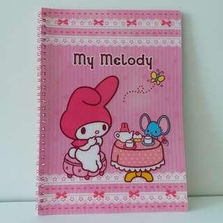 (日本直送) My Melody 2007 B5 Note book, 100% New