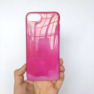 Pink marble Iphone 7 case