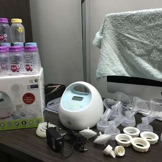 Spectra S1 Breast Pump and accessories